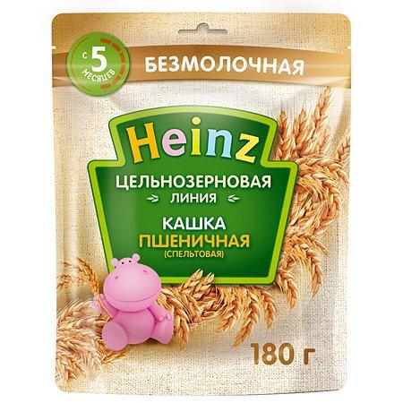 Каша Heinz цельнозерновая пшеничная 180г с 5 месяцев