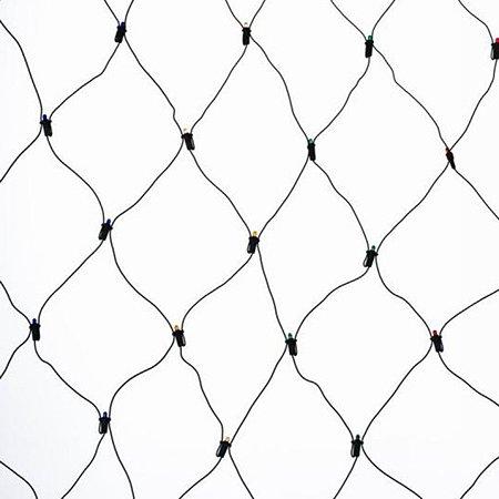 Гирлянда-сетка Лапландия Мультиколор 320 микроламп