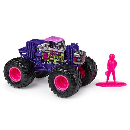 Машинка Monster Jam 1:64 Wild Flower 6044941/20116899