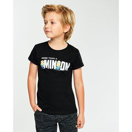 Футболка Minions чёрная