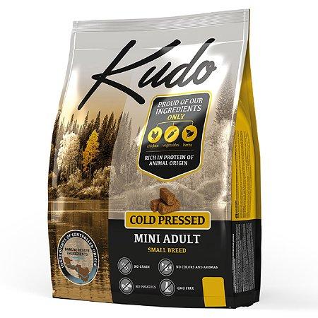 Корм для собак Kudo мелких пород цыпленок 2.5 кг
