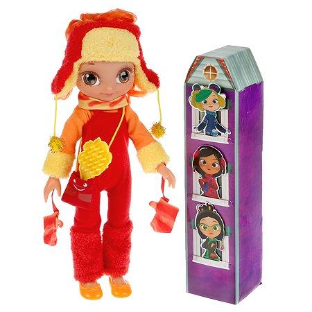 Кукла Карапуз Сказочный патруль Аленка в зимней одежде 296134