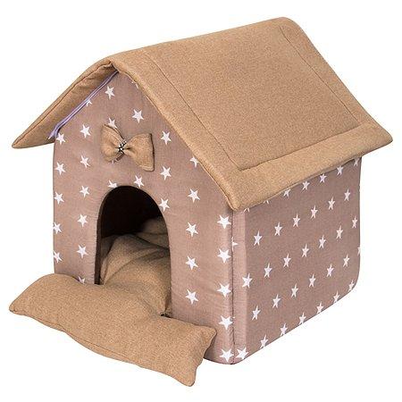 Домик для животных TipiPets LittleHouse coffee stars TipiPets