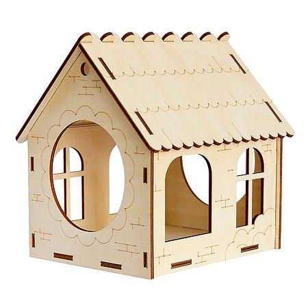 Сборная модель Символик С окнами Кормушка №4 Символик