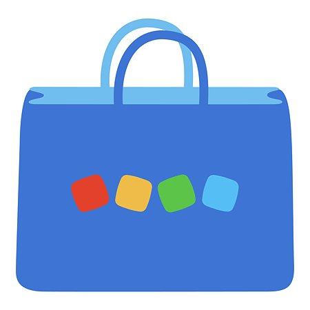 Пакет Детский мир 330*410*160 Синий
