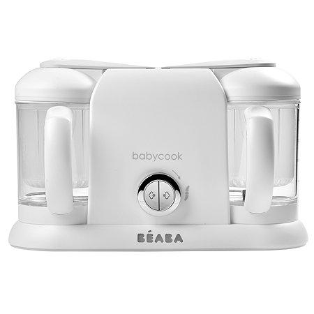 Пароварка-блендер BEABA Babycook Duo с 2чашами Белый