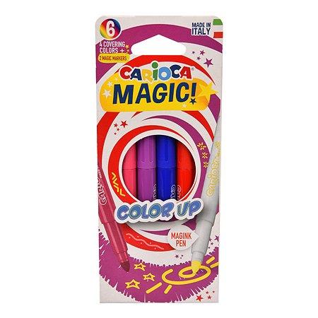Фломастеры CARIOCA Magic Color Up 6шт 43047