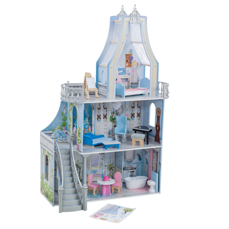 Кукольный домик KidKraft Волшебные мечты с мебелью 16 предметов свет звук 65981_KE