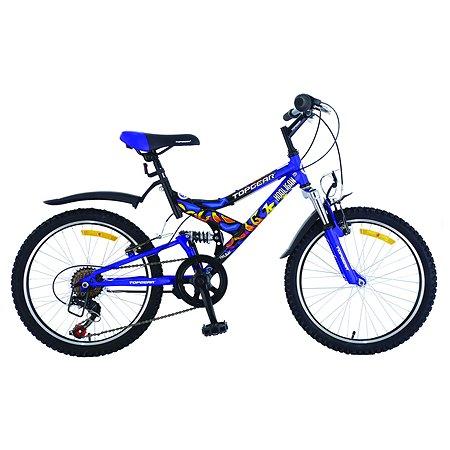 Велосипед TopGear Hooligan 20 дюймов Синий ВН20074