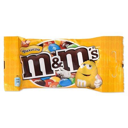 Драже M&MS с арахисом 45г