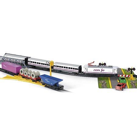Поезд PEQUETREN ЖД Испании Товарно-пассажирский ( свет)