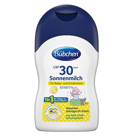 Молочко солнцезащитное Bubchen ФЗ 30+ 150мл