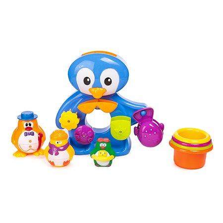 Пингвины Baby Go на отдыхе для ванны