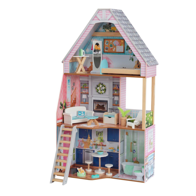 Кукольный домик KidKraft Матильда с мебелью 23 предмета 65983_KE