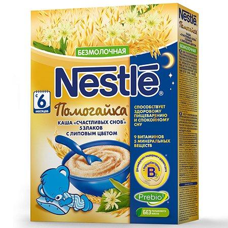 Каша Nestle Помогайка 5 злаков с липовым цветом 200г