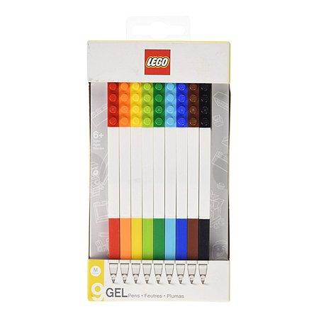 Набор ручек LEGO гелевых 9цветов 51482