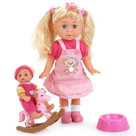 Кукла Карапуз интерактивная с братиком(POLI-03-D-RU)