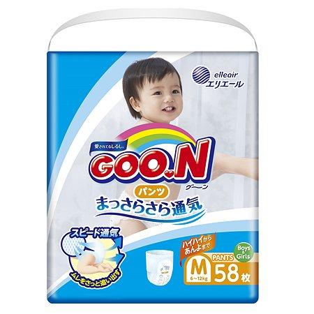 Подгузники-трусики Goon M 6-12кг 58шт