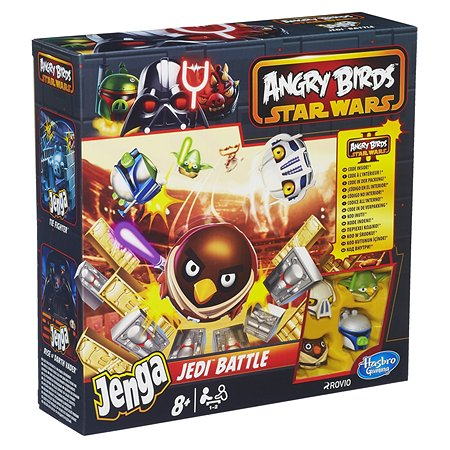 Игра Jenga Hasbro Games Angry Birds Star Wars Дженга Атака Клонов