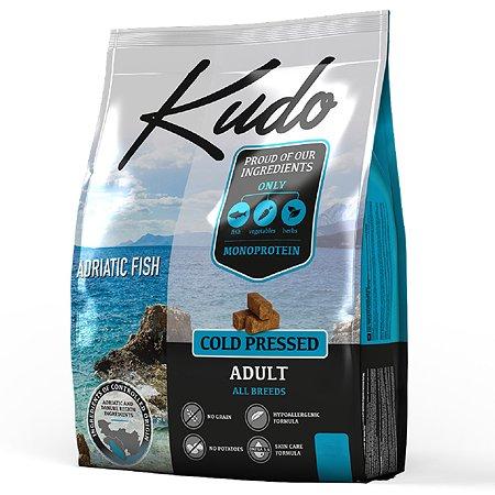 Корм для собак Kudo Адриатическая рыба 2.5 кг