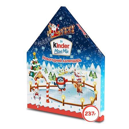Подарок Kinder Макси Микс с новогодней игрой 237г