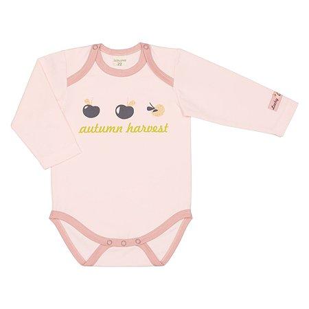 Боди Lucky Child розовое