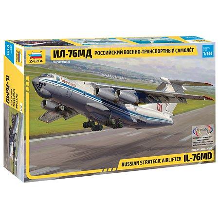 Модель сборная Звезда Самолёт ИЛ-76МД