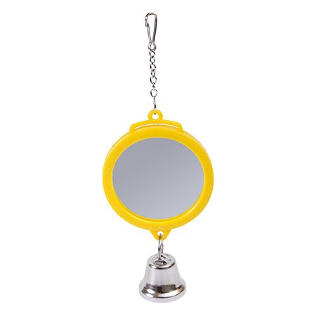 Игрушка для птиц PennPlax Зеркало с колокольчиком ВА510