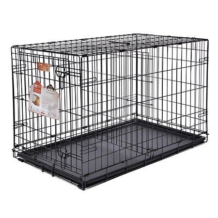 Клетка Midwest iCrate 1дверь Черная 1536