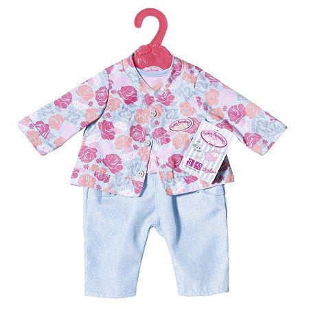 Одежда для кукол Zapf Creation для прогулки Голубая 701-973B