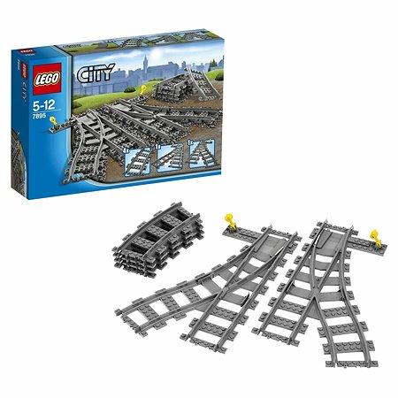 Конструктор LEGO City Trains Железнодорожные стрелки (7895)