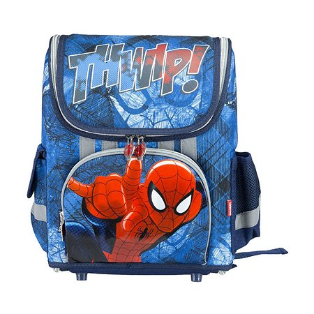 Ранец Kinderline Spider-man (синий)