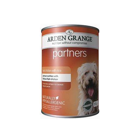 Корм для собак Arden Grange Partners с курицей и рисом 395г