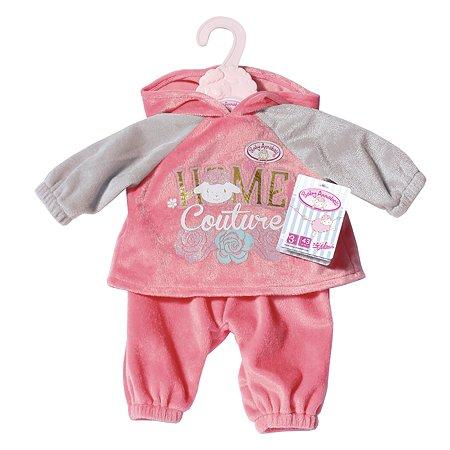 Одежда для кукол Zapf Creation Baby Annabell Костюмчик Розовый 702-062P