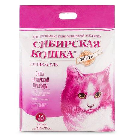 Наполнитель для кошек Сибирская кошка Элита привередливых 16л