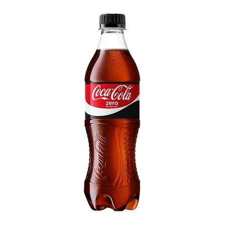 Напиток Coca-Cola Zero 0.5л