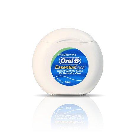 Зубная нить Oral-B Essential floss мята 50м
