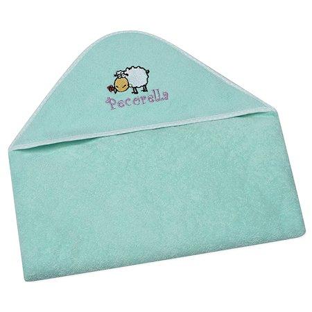 Полотенце с капюшоном Pecorella Салатовое