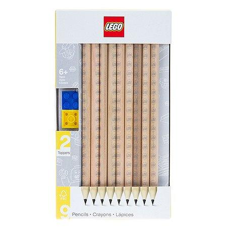 Набор карандашей LEGO 9 шт ТМ грифельные