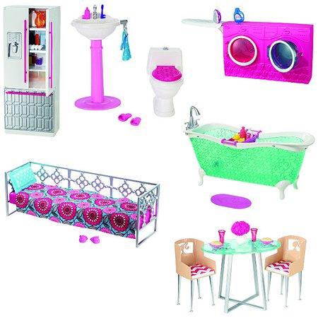 Набор мебели Barbie для декора дома в ассортименте