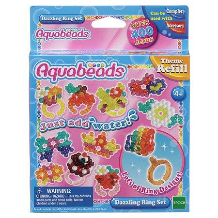 Тематический набор бусин Aquabeads Ослепительные кольца