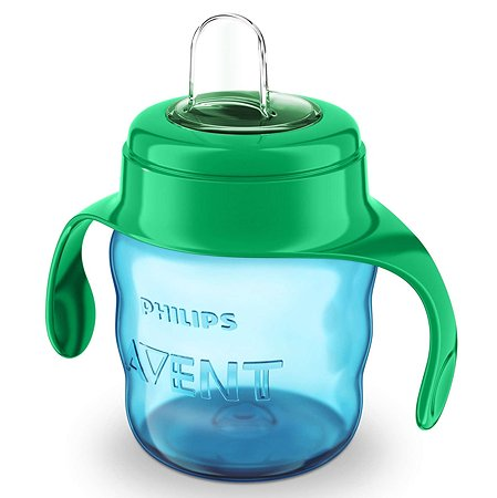 Чашка с носиком Philips Avent Comfort 200 мл 6 мес+ Зелёная