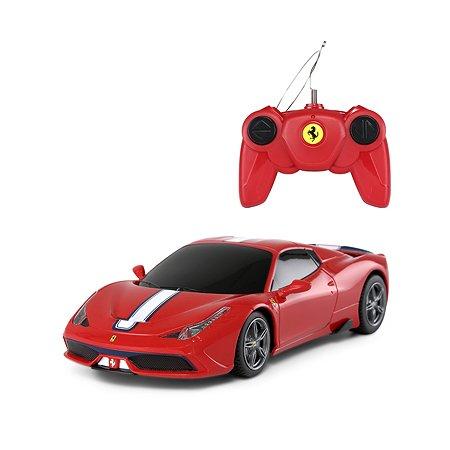 Машинка на радиоуправлении Rastar Ferrari 458 1:24 Красная