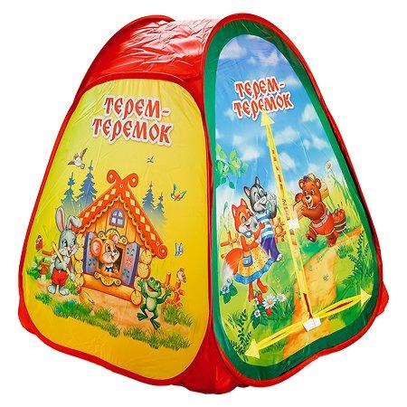 Палатка Играем вместе Теремок