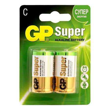 Батарейки GP 2шт GP 14A(LR14)-BC2