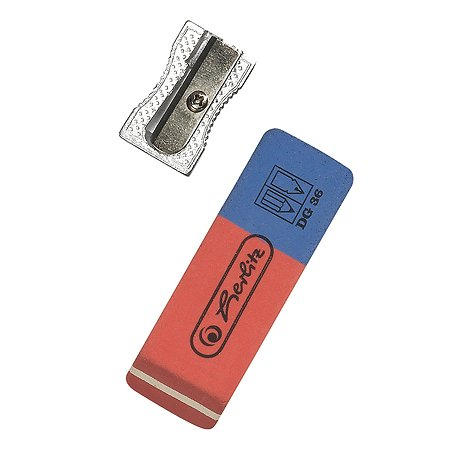 Набор Herlitz точилка ластик 8680704
