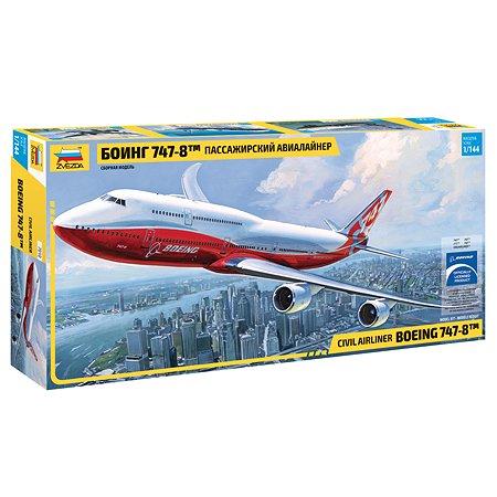 Модель для сборки Звезда Боинг 747-8