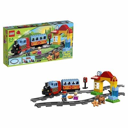 Конструктор LEGO DUPLO Town Мой первый поезд (10507)
