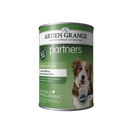 Корм для собак Arden Grange Partners с ягненком и рисом 395г