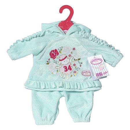 Одежда для кукол Zapf Creation Baby Annabell Костюмчик Зеленый 702-062G